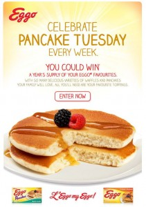 Win a Years Supply of Eggo Pancakes and Waffles