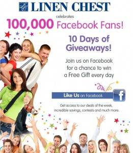10 Days of Giveaway Linen Chest