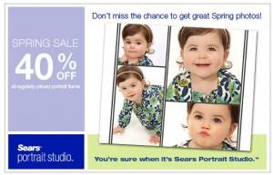 40 off Sears Spring Photos