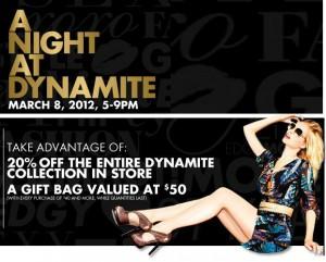 A Night at Dynamite