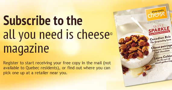 Get a Free Copy of All You Need is Cheese Magazine