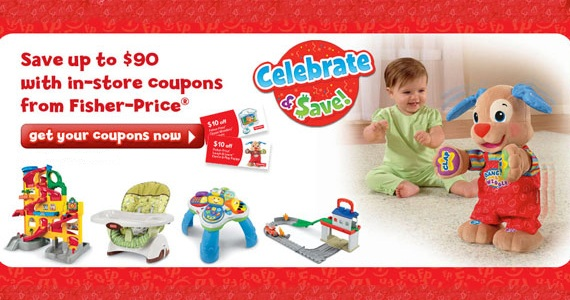 Save BIG with Fisher-Price Coupons
