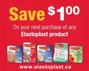 Save 1 on Elastoplast Products