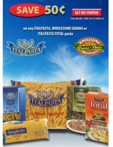 Save on Italpasta