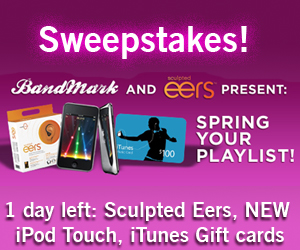 Win Prizes with BandMark