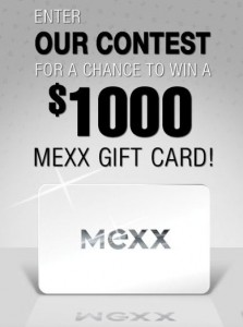 Win a 1K Gift Card for MEXX