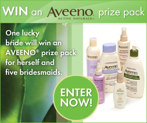 Win an Aveeno Prize Pack From Wedding Bells