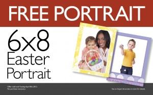 Free 6x8 Easter Portrait at Blacks