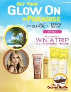 John Frieda Hawaii Contest