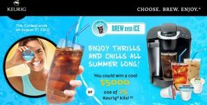 Keurig Brew Over Ice Contest