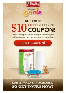 Save 10 on a Diaper Genie