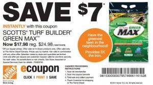 Save 7 on Scotts Turf Builder