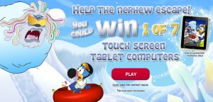 Win a Tablet with Fruit Loops