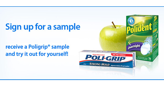 Free Poli-Grip Sample from Walmart