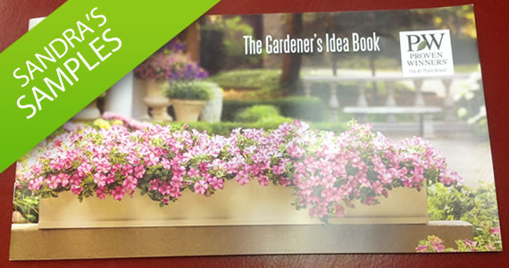 Sandra's Samples- Proven Winners Gardener's Idea Book