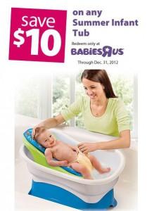 Babies R Us Infant Tub Coupon
