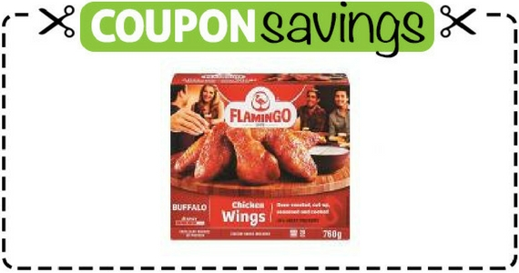 Save $2 on Flamingo Crispy Chicken Wings