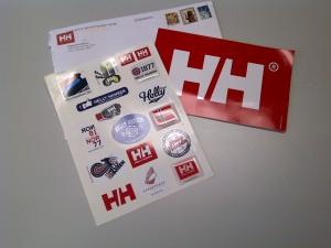 Free Helly Hansen Sticker Pack
