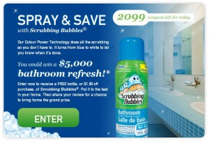 Scrubbing Bubbles Bathroom Refresh