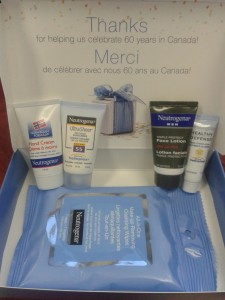 Neutrogena 60th BDay Sample Pack