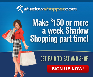 Get Paid to Eat and Shop with Shadow Shopper