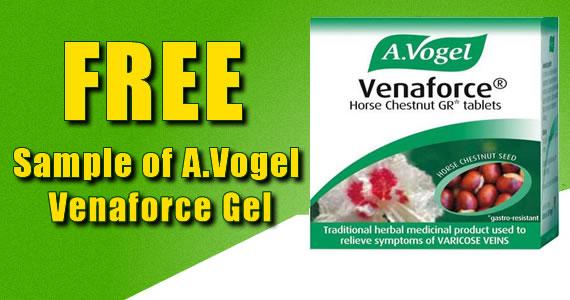 Free Sample of A.Vogel Venaforce Gel