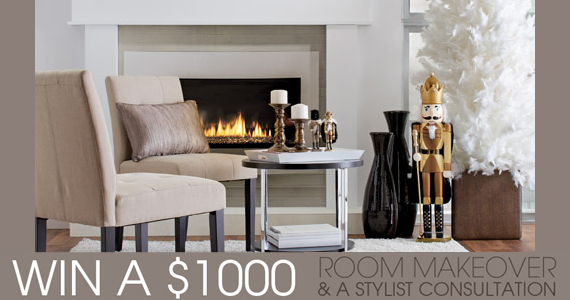 Win a $1,000 Room Makeover from Bouclair Home