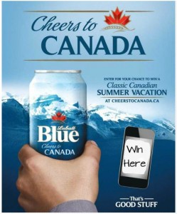 Cheers to Canada