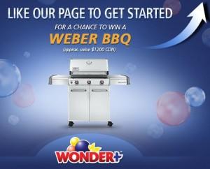 Win a Weber BBQ from Wonder