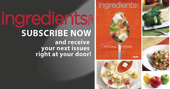 Free Subscription to Ingredients Magazine