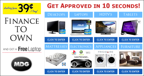 Furnish Your Home and Get a Free Laptop from MDG
