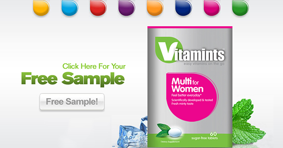 Get a Free Sample of Vitamints