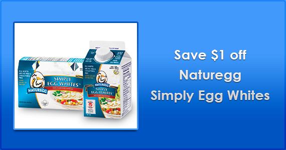 Save $1 off Naturegg Simply Egg Whites