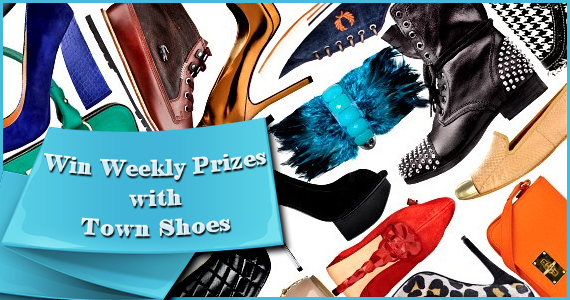 Win Weekly Prizes with Town Shoes