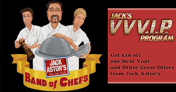 Get $10 off Your Next Visit at Jack Astor's