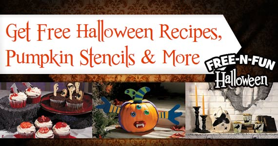 Get Free Halloween Recipes, Pumpkin Stencils & More