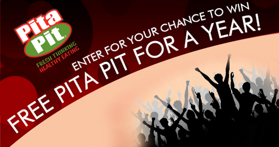 Win Free Pita Pit for a Year
