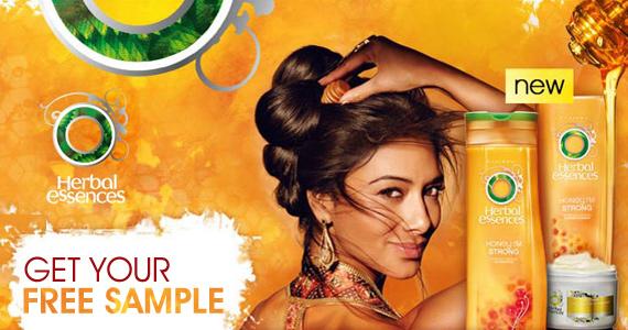 Free Herbal Essences Honey, I'm Strong Shampoo or Conditioner Sample