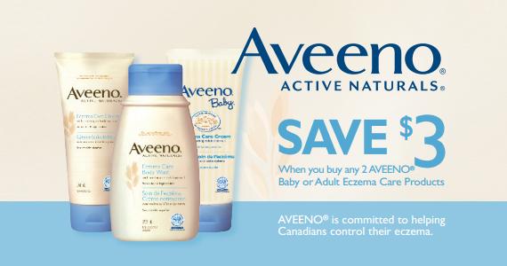 Save $3 on Aveeno Active Naturals