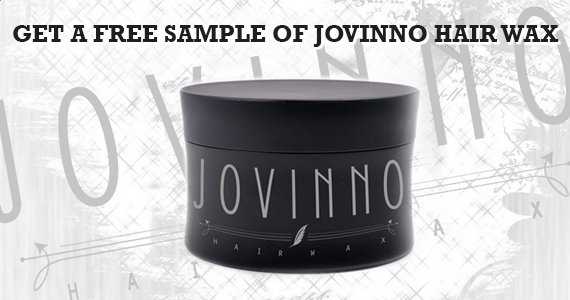 Get a Free Sample of Jovinno Hair Wax