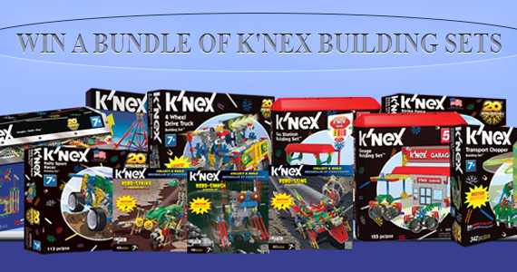 Win a Bundle of K'NEX Building Sets