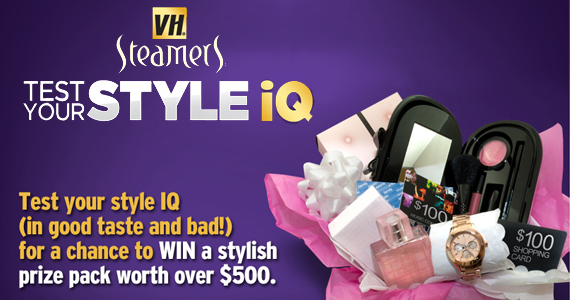 Test Your Style IQ to Win a Prize Pack from VH Steamers
