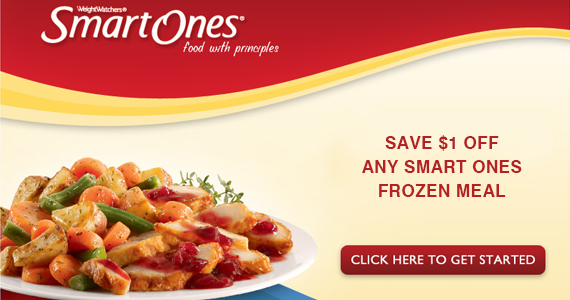 Save $1 off Any Smart Ones Frozen Meal