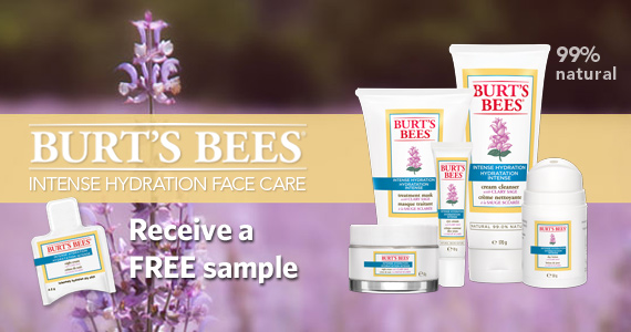 Free Sample of Burt's Bees Intense Hydration Night Cream