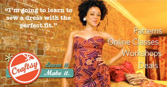 Free Online Class from Craftsy
