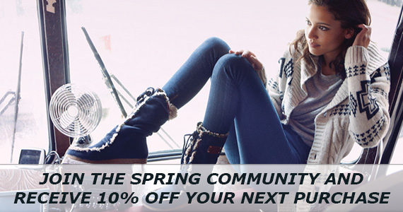 Save 10% off at Spring