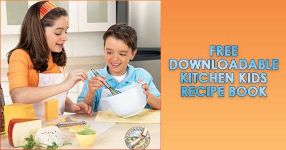 Free Kitchen Kids Recipe Book