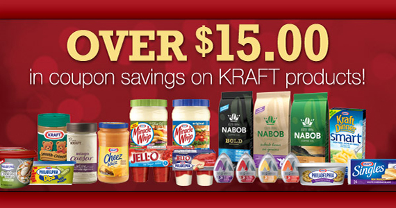 Save Over $15 with Kraft Coupons