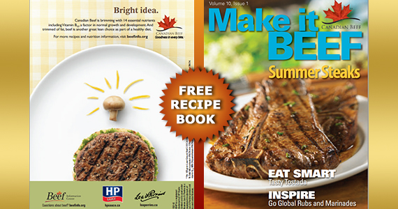 Free Make it Beef Recipe Book from HP Sauces