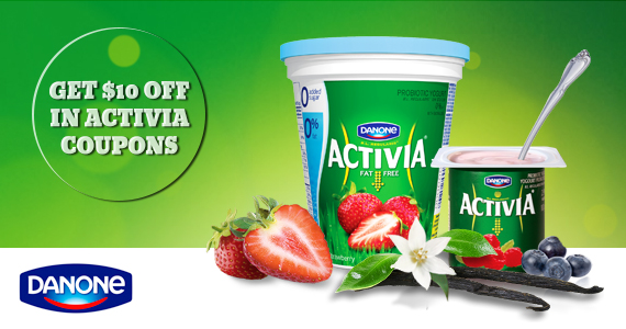 Get $10 off in Activia Coupons
